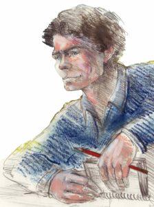 Le personnage de Julien, un auvergnat d'aujourd'hui à découvrir lors de votre visite guidée au musée dans le Sancy